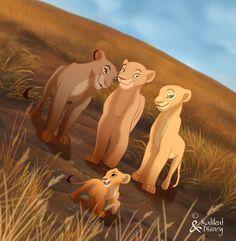 The Lion King Fan Art: lioness Kiara Lion King, Lion King 3, Lion King Fan Art, Lion King Movie, King Art, Simba And Nala, Simba Disney, Disney Lion King, Disney And Dreamworks