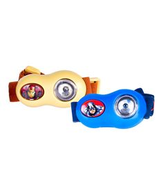 Love this Captain America & Iron Man Headlamp - Set of Two by Captain America on #zulily! #zulilyfinds