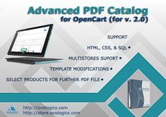 Advanced PDF Catalog for OpenCart  Is an intuitive and powerful tool for generating PDF document based on products user has selected. With our extension, you can quickly and easily get striking results. Final PDF appearance depends solely on designer's imagination. We already have included several different templates/layouts by default. #Ovologics #extension #ecommerce #Template #PDF #OpenCart #eCommerce #store