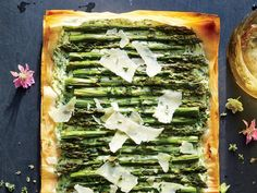 Herbed Ricotta, Asparagus, and Phyllo Tart Recipe - Cooking Light