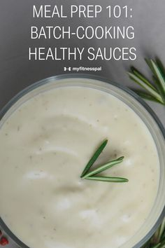 While there are plenty of creative recipes to make when meal prepping, the truth is you often eat the same couple of dishes over the course of the week. To make leftovers more exciting when eating for weight loss, consider sauces! Here's what you need to know about making a healthy homemade sauce and which ones are best for meal prep. #MyFitnessPal #mealprep #leftoverideas Low Sugar Diet, Healthy Sauces, Clean Eating Challenge, Batch Cooking, Homemade Sauce, Diet Plans, Creative Food, Food To Make, Meal Prep