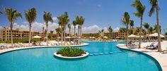 It is HOT outside, Hacienda Tres Ríos Pool. #RivieraMaya