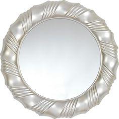 Dieser Spiegel (D: ca. 80 cm) ist ein zeitloser Blickfang für Ihre vier Wände. Die runde Form ist genau das richtige für klassische Ansprüche und zaubert ein edles Ambiente in Ihre Wohnung. Ob zum Betrachten des neuen Schals im Schlafzimmer oder als dekorativer Akzent im Flur: Ihr neuer Spiegel ist ein echtes Highlight!