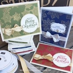 #flurryofwishes for holiday cards. www.bonniestamp.stampinup.net