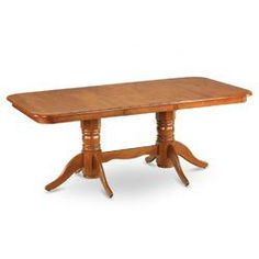 Napoleon Dining Table in Saddle Brown