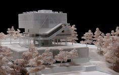 © la rotta arquitectos + arquitectura (model) - faculty of arts PUJ - bogota, colombia - 2011 Cultural Architecture, Concept Architecture, Architecture Drawings, Architecture Design, Model Tree, 3d Modelle, Arch Model, Modelos 3d, Design Process