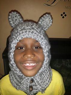 Crochet Hoodie and Neckwarmer. ..