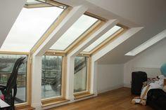 Loft Conversion In Surrey Quays Loft Conversion Gallery, Loft Conversion Bedroom, Attic Conversion, Loft Conversions, Small Loft Spaces, Attic Spaces, Loft Room, Bedroom Loft, Master Bedroom