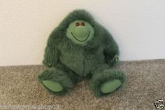 """Excellent used condition Early Advantage Muzzy Plush Fluffy Green Monster  12"""" British Broadcasting Corporation  (BBC) About 12"""" tall  Returns accepted if not 100% satisfied ( No hassle return policy) *Returned in same condition you received it in. *I pay for returned shipping if it is my fault *If it is your fault you pay for returned Shipping  FAST SHIPPING!!!"""