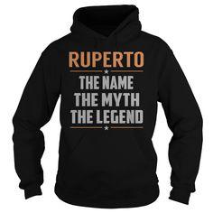 RUPERTO The Myth, Legend - Last Name, Surname T-Shirt