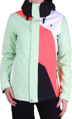 Volcom Clove Insulated Jacket - sage - Snowboard Shop > Women's Snowboard Outerwear > Women's Snowboard Jackets > Women's Insulated Snowboard Jackets