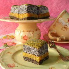 Hungarian Cookies, Poppy Cake, Paleo Sweets, Paleo Food, Cake Bars, Sweet Recipes, Dairy Free, Gluten Free, Goodies
