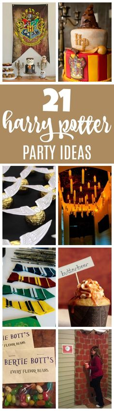 21 Magical Harry Potter Birthday Party Ideas | Pretty My Party