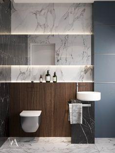 Indian Home Interior Artdeco apartment sq.m Kiev on Behance Contemporary Bathrooms, Modern Bathroom Design, Bathroom Interior Design, Interior Livingroom, Contemporary Design, Wc Design, Toilet Design, Quirky Home Decor, Hippie Home Decor