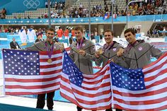 This was a special relay swim for Michael Phelps, Conor Dwyer, Ryan Lochte and Ricky Berens. There was no dramatic finish to rival memories of the 2008 men's 4x100m free relay, but it was record-breaking for Phelps. The U.S. men won gold by more than three seconds, a victory that helped Phelps become the most decorated Olympian of all