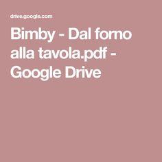 Bimby - Dal forno alla tavola.pdf - Google Drive