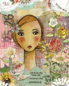 Joyful Girl print- Kelly Rae Roberts
