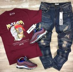 Sport Outif Street 31 Ideas For 2019 Dope Outfits For Guys, Swag Outfits Men, Nike Outfits, Casual Outfits, Teen Boy Fashion, Tomboy Fashion, Streetwear Fashion, Mens Fashion, Fashion Outfits