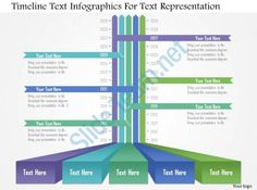 ap timeline text infographics for text representation powerpoint template Slide01