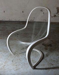 Fragile panton chair