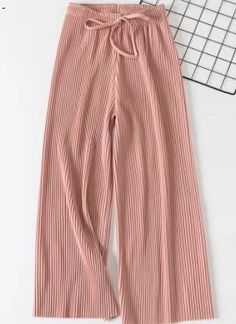 Wide-leg pants female summer sense high waist 2018 new Korean version of the wild nine pants loose Ankle Length, Wide Leg Pants, Patterned Shorts, Korean, High Waist, Leggings, Female, Type, Casual