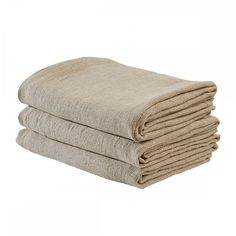 Straw honeycomb bath towel 140 x 200 CM, 100% linen - MERCI
