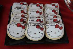 "Photo 16 of 51: Hello Kitty / Birthday ""Hello Kitty Themed Birthday Party"" | Catch My Party"