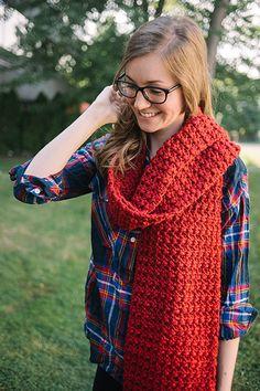 Free Crochet Pattern - Coastal Redwood Super Scarf Pattern - I Like Crochet