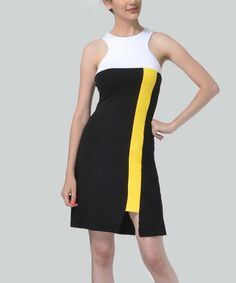 Color Blocking, Designer Dresses, How To Make, Black, Women, Fashion, Woman Dresses, Elegant, Moda