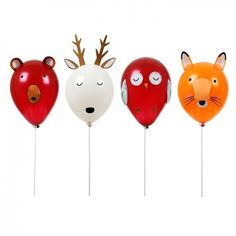 Forest Animals Balloons | Woodland Themed Balloons | Kids Themed Party Ideas | Meri Meri