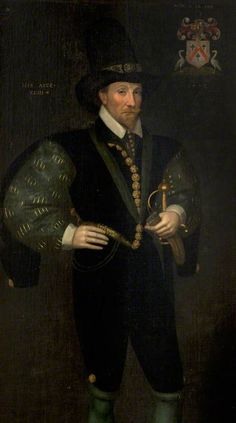 """Sir Thomas Kennedy of Culzean"", attr. Adrian Vanson, ca. 1600; National Trust for Scotland 45.21"