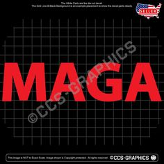 ef0b50e9892 MAGA Decal - Trump For President make car window usa sign sticker usa train  2020
