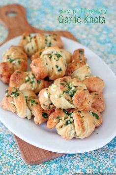 Easy Garlic Knots