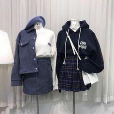 "~ 41k ~ on Instagram: ""~ 1 or 2? ~ ~~~~~ ~~~~~ #ulzzang #korea#koreangirl #kootd #ulzzanggirls #ootd #kfashion #koreanfashion #dailylook #fashion #koreanstyle…"""