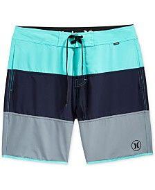 f4d7a519338f2 Hurley Men's Beachside Northcliff Colorblocked Swim Trunks Hurley  Boardshorts, Mens Boardshorts, Boys Swim Trunks