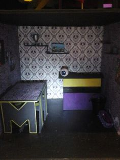 Salle à manger Monster high inspiration Spectra