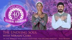 "We are thrilled to announce our upcoming global sadhana ""The Undying Soul"" (Akal Mahakal) with Mirabai Ceiba! This is a powerful meditation that will dispel fear from your personality because it brings the awareness and experience of the undying consciousness of your soul. Experience your infinity with this powerful community practice. Start Date: October 9, 2015  ‪#‎40DayGlobalSadhana‬"