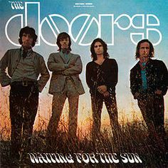 THE DOORS - LP Waiting For The Sun