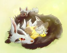 pokemon gaming poochyena pikachu shiny shiny poochyena cute