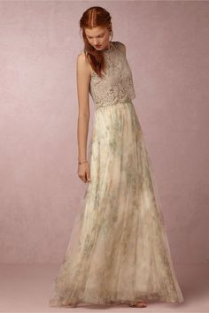 BHLDN Cleo Top & Louise Skirt in  Bridesmaids View All Dresses at BHLDN