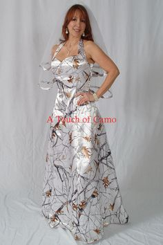 elegant Camouflage Prom Dress for Sale | Wedding Gown Dress Bridesmaid PROM CAMO Camouflage - US$ 291.87