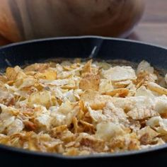 Tuna Noodle Casserole with Potato Chip Topping (Valerie Bertinelli)