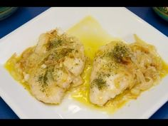 Merluza en salsa con gambas. Recetas de Pescados - YouTube Spanish Dishes, Mexican Dishes, Fish Stew, Daily Meals, Fish And Seafood, Creative Food, Paleo Diet, Seafood Recipes, Tapas