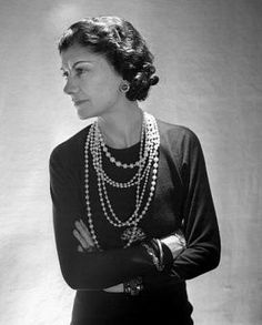 Looking back.. Coco Chanel, amazingly strong woman in pearls.  Looking ahead.. Chloe + Isabel's release of the Heirloom Pearl capsule collection Tuesday evening, 7 pm pacific! Nine new pieces!  Tune in to www.chloeandisabel.com/boutique/lisab to get your pearl fix!