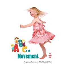 A to Z movement activities for young kids | AngeliqueFelix.com