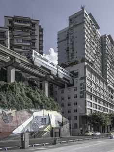 High quality images of cities. City Landscape, Fantasy Landscape, Urban Landscape, Futuristic City, Futuristic Architecture, Architecture Design, Hong Kong Architecture, Sci Fi City, Japan Street