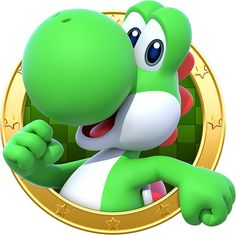 Yoshi - Mario Party: Star Rush Super Mario Bros, Super Mario Birthday, Super Mario Party, Super Mario Brothers, Super Smash Bros, Mario Und Luigi, Mario Bros., Yoshi, Mario Kart
