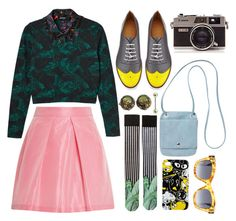 l a n d a n  f a s h i o n  w e e k by ihmarnaya on Polyvore featuring Monki, Tome, The Office Of Angela Scott, Fendi and vintage