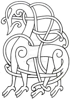 Viking Flash 29 by DarkSunTattoo on DeviantArt Celtic Patterns, Celtic Designs, Viking Embroidery, Embroidery Patterns, Art Viking, Norse Clothing, Viking Pattern, Symbole Viking, Norse Vikings