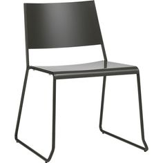 broad dining chair in dining chairs, barstools | CB2